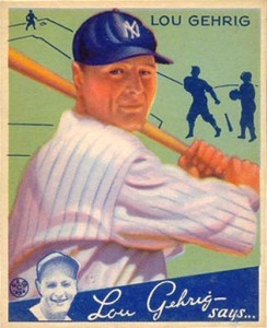Lou Gehrig Cards, Rookie Cards, and Memorabilia Guide 29