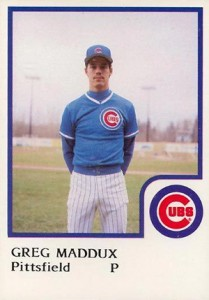 1986 ProCards Pittsfield Cubs Greg Maddux