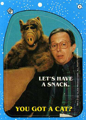 1987 Topps Alf Trading Cards 30