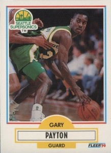 1990-91 Fleer Update Gary Payton RC #U92