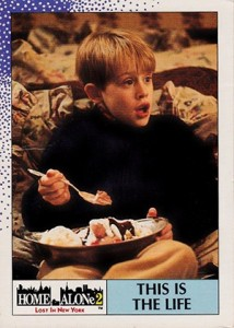 1992 Topps Home Alone 2: Lost in New York Trading Cards 1