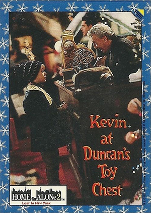 1992 Topps Home Alone 2: Lost in New York Trading Cards 24