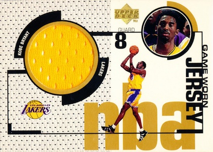 1998-99 Upper Deck Game Jerseys Kobe Bryant #GJ19