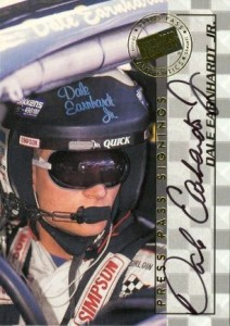 1998 Press Pass Dale Earnhardt Jr. Auto