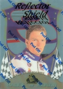 1999 Press Pass Premium Relector Shields Dale Earnhardt Jr.
