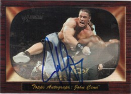 John Cena Cards, Autograph and Memorabilia Guide 2
