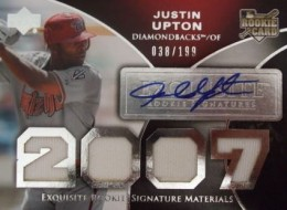 Justin Upton Cards, Rookie Cards and Autographed Memorabilia Guide 3