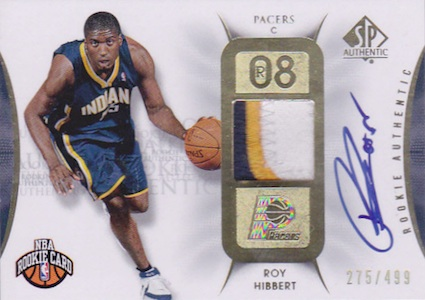 Roy Hibbert Cards and Memorabilia Guide 2