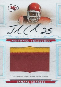 Jamaal Charles Cards and Memorabilia Guide 2
