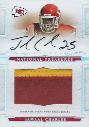 Jamaal Charles Cards and Memorabilia Guide 23