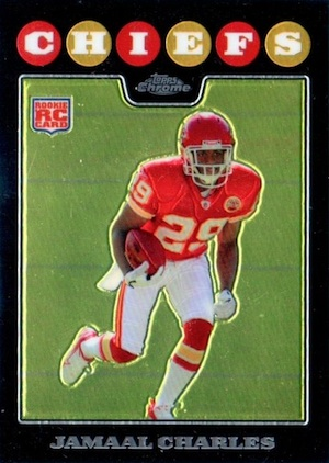 Jamaal Charles Cards and Memorabilia Guide 22