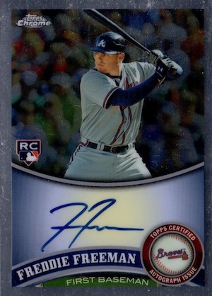 Freddie Freeman Rookie Cards Checklist and Memorabilia Guide 2