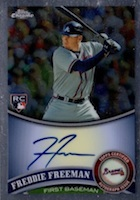 Freddie Freeman Rookie Cards Checklist and Memorabilia Guide