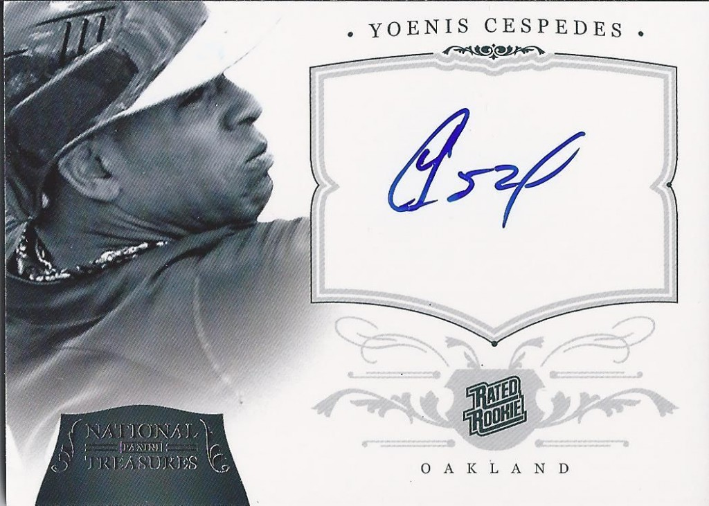 Yoenis Cespedes Cards and Autographed Memorabilia Guide 2