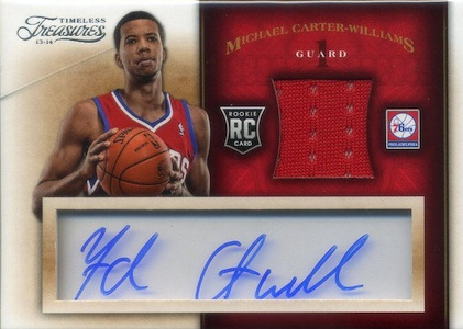 Michael Carter-Williams Rookie Card Checklist and Guide 21