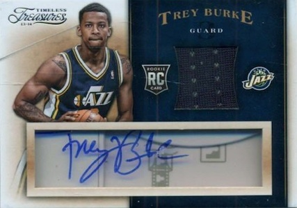 Trey Burke Rookie Cards Checklist and Guide 20