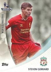 2013-14 Topps Premier Gold Soccer Cards 23