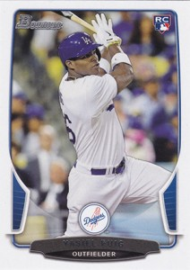 2013 Bowman Draft Yasiel Puig RC
