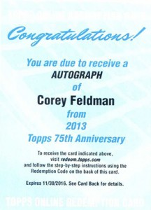 2013 Topps 75th Anniversary Autographs Bring the Nostalgia 16