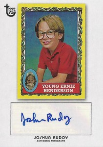 2013 Topps 75th Anniversary Autographs Bring the Nostalgia 12