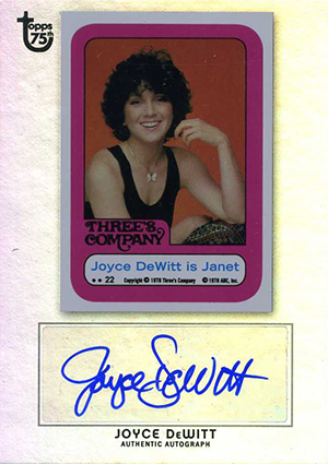 2013 Topps 75th Anniversary Autographs Bring the Nostalgia 2