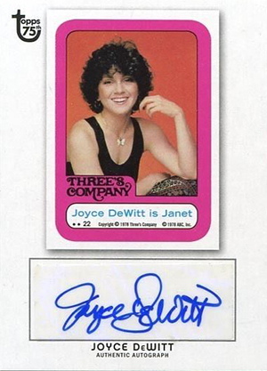 2013 Topps 75th Anniversary Autographs Bring the Nostalgia 1