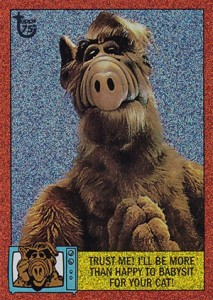 1987 Topps Alf Trading Cards 6