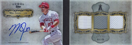 2013 Topps Five Star Baseball Cards 22