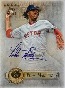 2013 Topps Five Star Baseball Autographs Pedro Martinez
