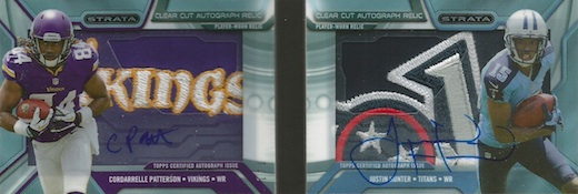 2013 Topps Strata Football Cards 27