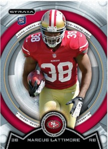 2013 Topps Strata Football Rookie Variations Guide 94