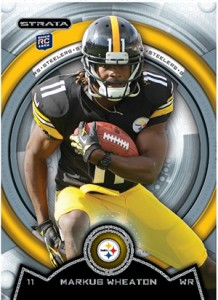2013 Topps Strata Football Rookie Variations Guide 40