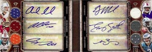 2013 Topps Triple Threads Football Cards 25