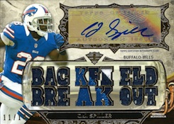2013 Topps Triple Threads Football Cards 23