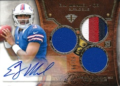 2013 Topps Triple Threads Football Cards 22
