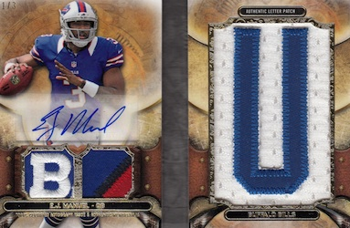 2013 Topps Triple Threads Football Cards 27