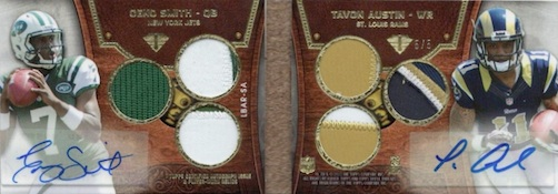 2013 Topps Triple Threads Football Cards 28