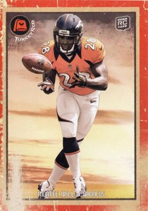 2013 Topps Turkey Red Football Variations Montee Ball