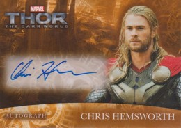 2013 Upper Deck Thor: The Dark World Actor Autographs Guide 1