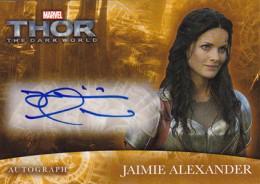 2013 Upper Deck Thor The Dark World Autographs Jamie Alexander