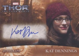 2013 Upper Deck Thor: The Dark World Actor Autographs Guide 2