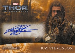 2013 Upper Deck Thor: The Dark World Actor Autographs Guide 6
