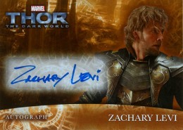 2013 Upper Deck Thor: The Dark World Actor Autographs Guide 4