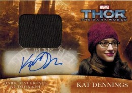 2013 Upper Deck Thor: The Dark World Actor Autographs Guide 14