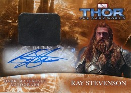 2013 Upper Deck Thor: The Dark World Actor Autographs Guide 17