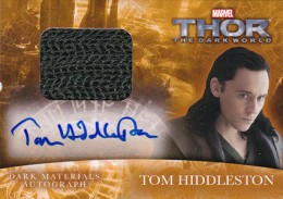 2013 Upper Deck Thor: The Dark World Actor Autographs Guide 15