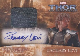 2013 Upper Deck Thor: The Dark World Actor Autographs Guide 18