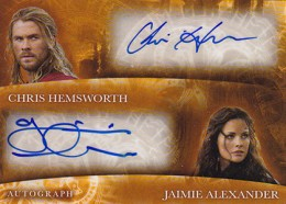 2013 Upper Deck Thor: The Dark World Actor Autographs Guide 11