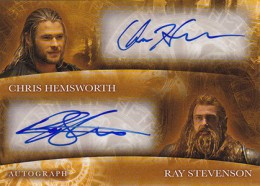 2013 Upper Deck Thor: The Dark World Actor Autographs Guide 10