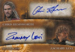 2013 Upper Deck Thor: The Dark World Actor Autographs Guide 12